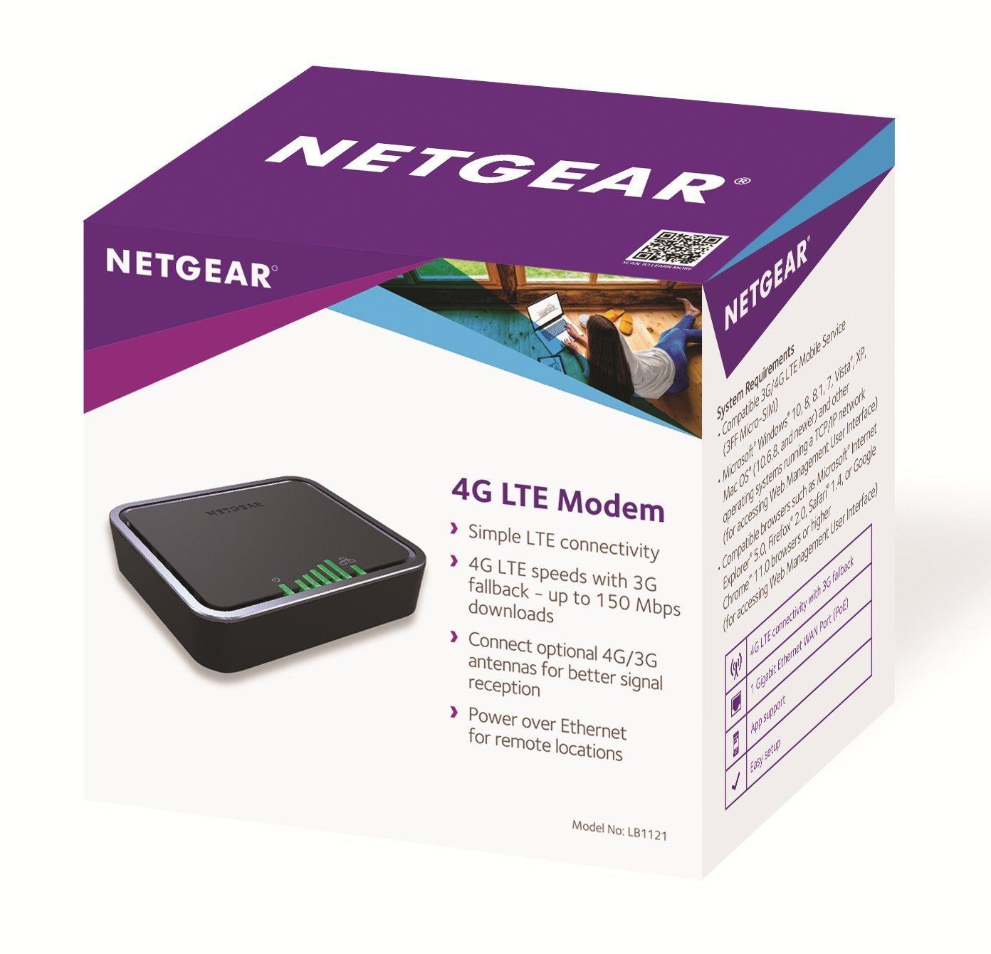 NETGEAR LB1121 4G LTE Modem